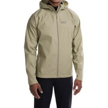 Jack Wolfskin Amber Road Soft Shell Jacket (For Men) in Moss Green - Closeouts