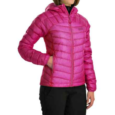 Jack Wolfskin Argo Down Jacket - 800 Fill Power (For Women) in Dark Magenta - Closeouts