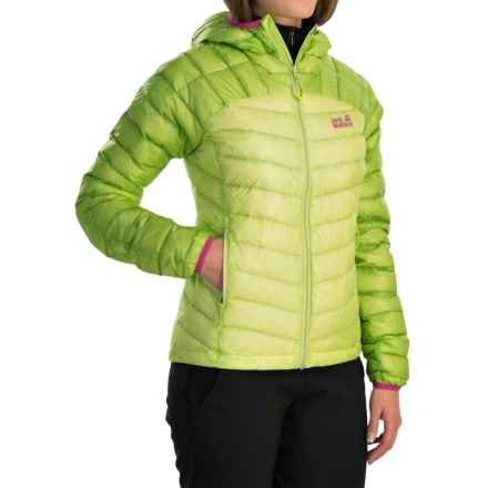 Jack Wolfskin Argo Down Jacket - 800 Fill Power (For Women) in Sharp Green - Closeouts