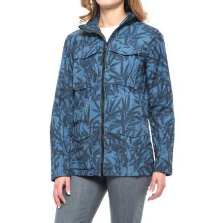 Jack Wolfskin Biarritz Bamboo Jacket (For Women) in Ocean Wave - Closeouts