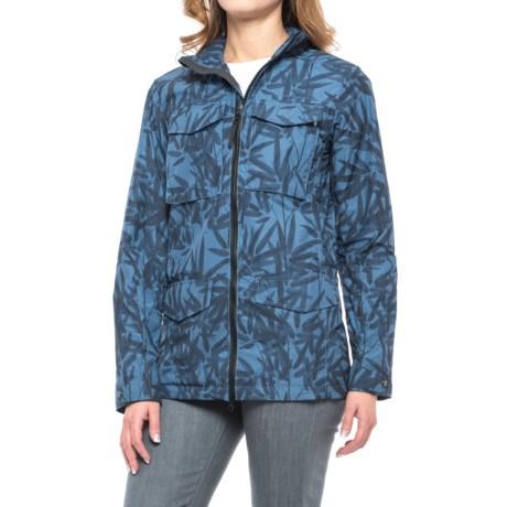 Jack Wolfskin Biarritz Bamboo Jacket (For Women) in Ocean Wave