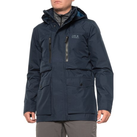 Jack Wolfskin Bridgeport Waterproof Rain Men's Jacket