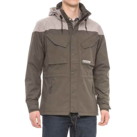 Jack Wolfskin Bronco Jacket (For Men) in Olive Brown - Closeouts