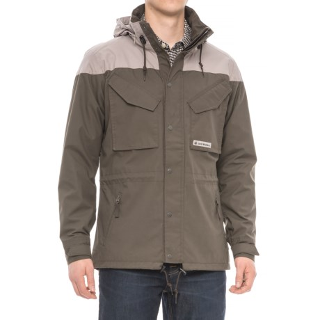Jack Wolfskin Bronco Jacket (For Men) in Olive Brown