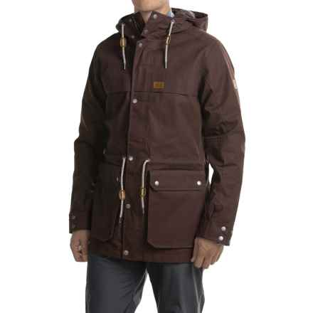 Jack Wolfskin Bukoba F65 Parka - Waterproof (For Men) in Ground - Closeouts
