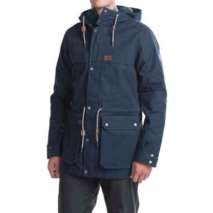 Jack Wolfskin Bukoba F65 Parka - Waterproof (For Men) in Night Blue - Closeouts