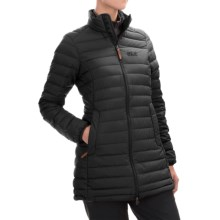 Jack Wolfskin Carmanville Down Coat - 700 Fill Power (For Women) in Black - Closeouts