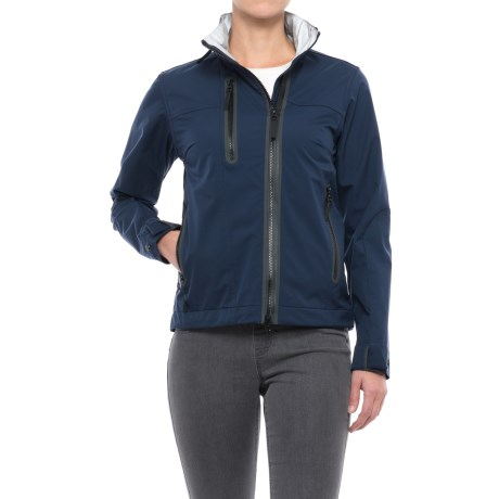 Jack Wolfskin Causeway Bay Jacket (For Women) in Midnight Blue