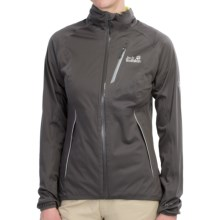 Jack Wolfskin Charged Atmosphere XT Soft Shell Jacket - Waterproof (For Women) in Dark Steel - Closeouts