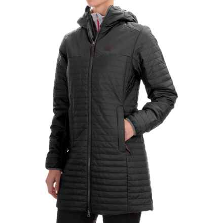 Jack Wolfskin Clarenville Coat - Insulated (For Women) in Black - Closeouts