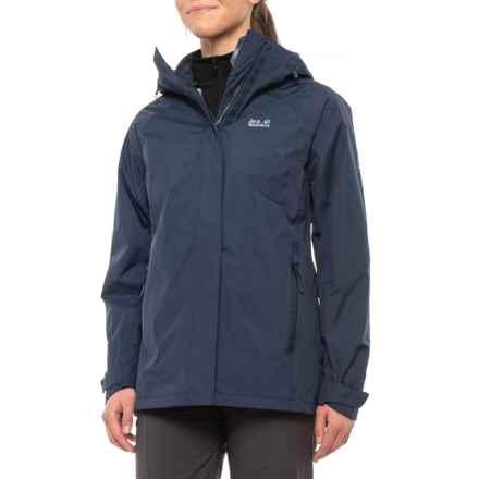 Jack Wolfskin Clearwater Lake Jacket - 3-in-1, Waterproof (For Women) in Midnight Blue - Closeouts