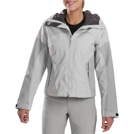 Jack Wolfskin Cloud Stream Jacket (For Women) in Grey Haze
