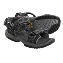 Jack Wolfskin Coastal Pass Sport Sandals (For Men) in Dark Steel - Closeouts