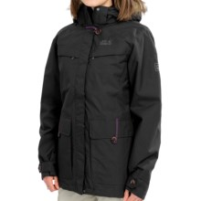 Jack Wolfskin Corner Brook Parka - Waterproof, 3-in-1 (For Women) in Black - Closeouts
