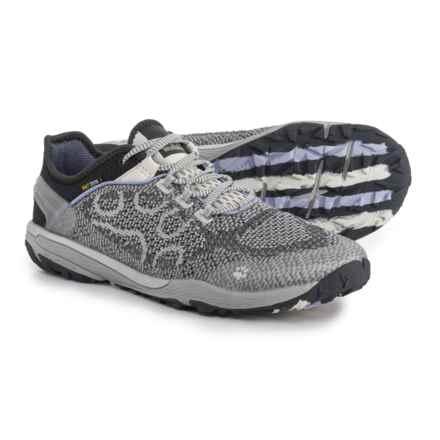 Jack Wolfskin Crosstrail Knit Low Trail Running Shoes (For Women) in Grey Haze - Closeouts