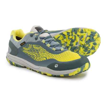 Jack Wolfskin Crosstrail Texapore Low Trail Running Shoes - Waterproof (For Women) in Bright Absinth - Closeouts
