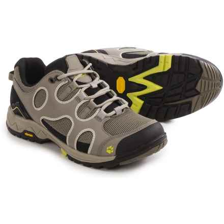 Jack Wolfskin Crosswind Low Hiking Shoes (For Women) in Bright Absinth - Closeouts