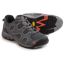 Jack Wolfskin Crosswind Low Hiking Shoes (For Women) in Tarmac Grey - Closeouts