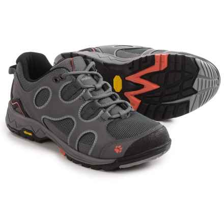 Jack Wolfskin Crosswind Low Hiking Shoes (For Women) in Tarmac Grey - Closeouts