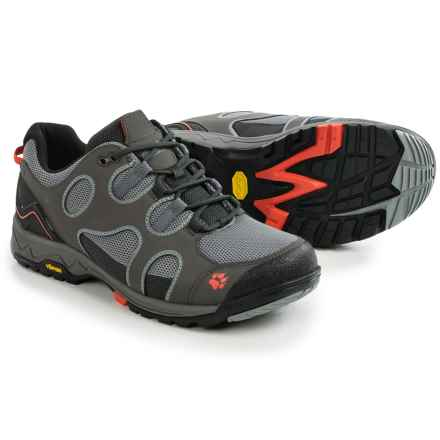 Jack Wolfskin Crosswind Low Hiking Shoes - Vibram® Outsole (For Men) in Dark Steel - Closeouts