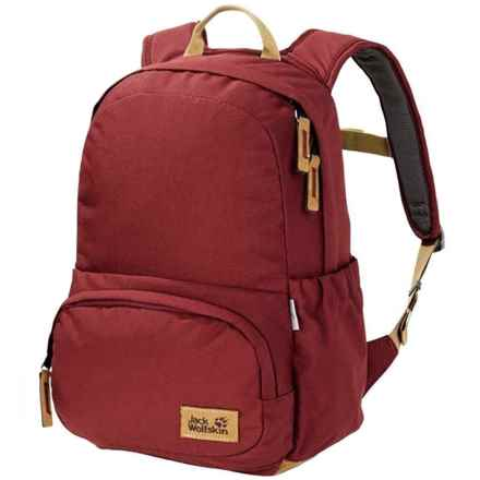 5f582271a5 Jack Wolfskin Croxley Backpack (For Kids) in Dark Red - Closeouts