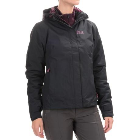 Jack Wolfskin Crush´N Ice Texapore Jacket - Waterproof, 3-in-1 (For Women)