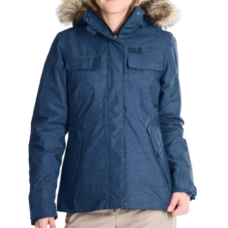 Jack Wolfskin Cypress Mountain Texapore Jacket Waterproof, Insulated (For Women)
