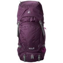Jack Wolfskin Denali 60 Backpack (For Women) in Grapevine - Closeouts