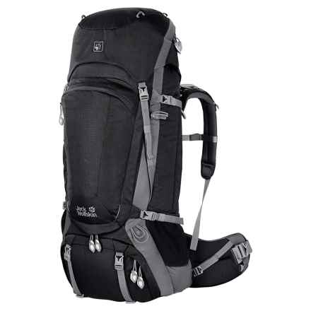 Jack Wolfskin Denali 65 Backpack in Black - Closeouts
