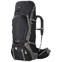 Jack Wolfskin Denali 75 Backpack in Black - Closeouts