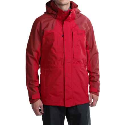 Jack Wolfskin Denali Flex Jacket - Waterproof (For Men) in Indian Red - Closeouts