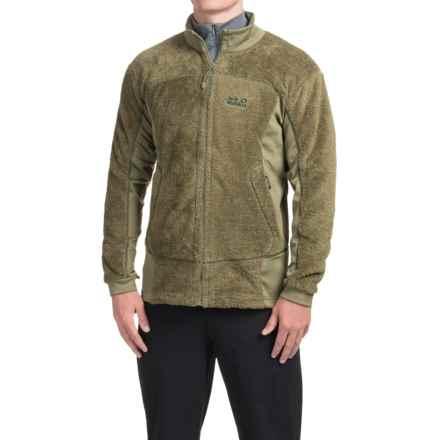 Jack Wolfskin Denali Highloft Fleece Jacket - Full Zip (For Men) in Burnt Olive - Closeouts