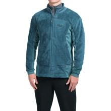 Jack Wolfskin Denali Highloft Fleece Jacket - Full Zip (For Men) in Moroccan Blue - Closeouts