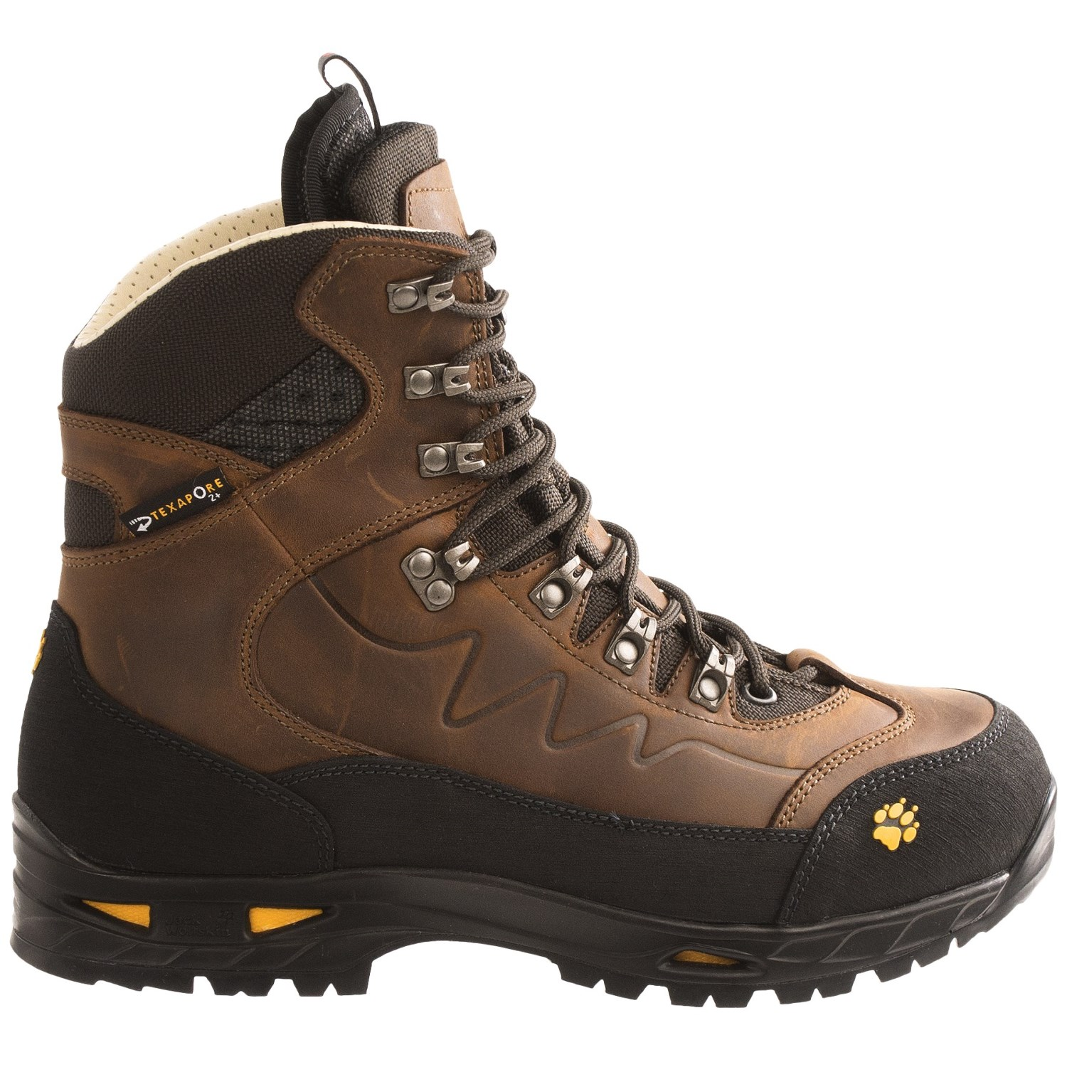 jack wolfskin deviator texapore hiking boots for men 7546y save 33. Black Bedroom Furniture Sets. Home Design Ideas
