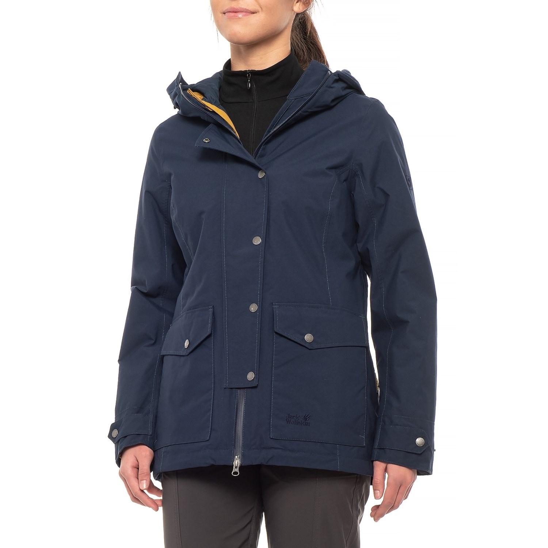 75aef209777 Jack Wolfskin Devon Island Jacket - 3-in-1, Waterproof, Insulated (For  Women)