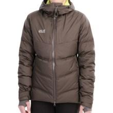 Jack Wolfskin Downshell Tec Ski Jacket - 700 Fill Power (For Women) in Dark Steel - Closeouts