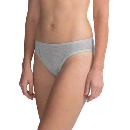 Jack Wolfskin Dry 'N Light Panties - Briefs (For Women) in Silver Grey - Closeouts