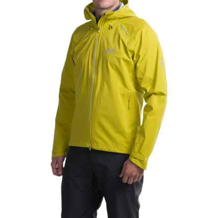 Jack Wolfskin Exhalation Texapore Jacket - Waterproof (For Men) in Wild Lime - Closeouts