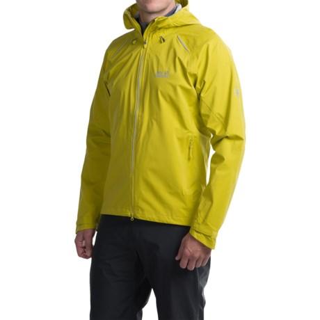 Jack Wolfskin Exhalation Texapore Jacket - Waterproof (For Men) in Wild Lime