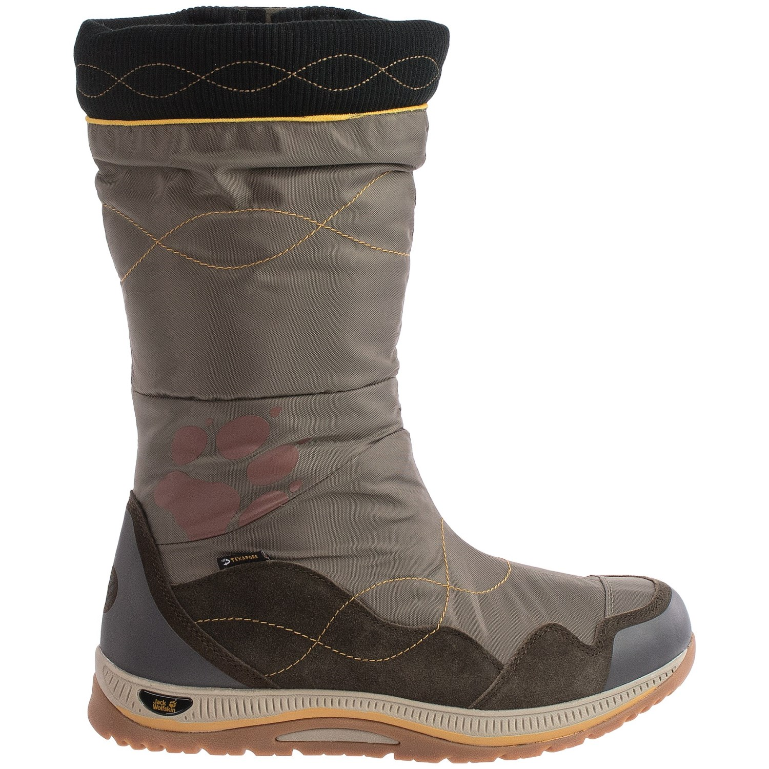jack wolfskin fairbanks texapore snow boots for women save 73. Black Bedroom Furniture Sets. Home Design Ideas