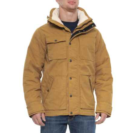 Jack Wolfskin Fort Nelson Jacket Insulated For Men In Golden Amber Closeouts