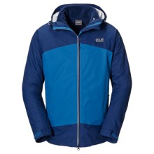 Jack Wolfskin Frost Wave Texapore Jacket - 3-in-1, Waterproof (For Men) in Classic Blue - Closeouts