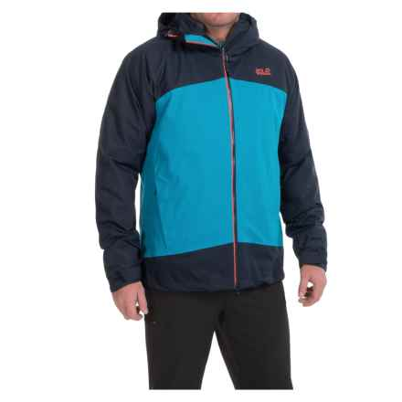 Jack Wolfskin Frost Wave Texapore Jacket - 3-in-1, Waterproof (For Men) in Dark Turquoise - Closeouts