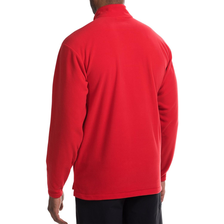 jack wolfskin gecko fleece pullover jacket for men. Black Bedroom Furniture Sets. Home Design Ideas