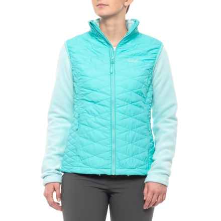 Jack Wolfskin Glen Dale Vest and Liner Jacket - 3-in-1, Insulated (For Women) in Icy Water - Closeouts