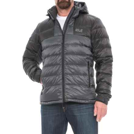 Jack Wolfskin Greenland Down Jacket - 700 Fill Power (For Men) in Ebony - Closeouts