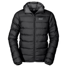 Jack Wolfskin Helium Down Jacket - 700 Fill Power (For Men) in Black - Closeouts