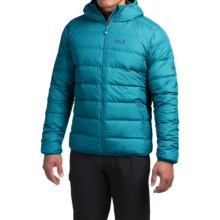 Jack Wolfskin Helium Down Jacket - 700 Fill Power (For Men) in Dark Turquoise - Closeouts