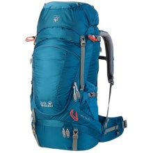 Jack Wolfskin Highland Trail XT 50 Backpack in Moroccan Blue - Closeouts
