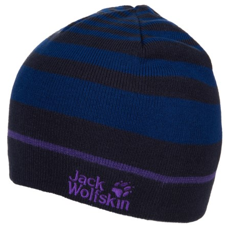 18343b279b5ed Jack Wolfskin Horizon Reversible Hat (For Men and Women) in Midnight Blue -  Closeouts